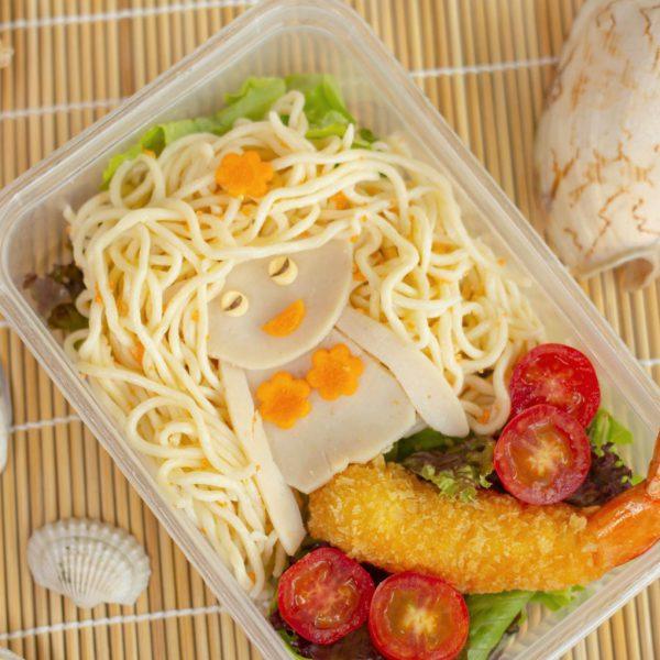 Little Mermaid Spaghetti Bento