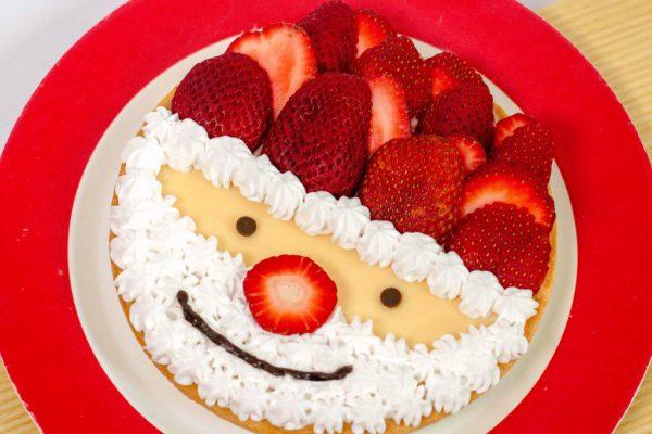 Santa Strawberry Tart (2)